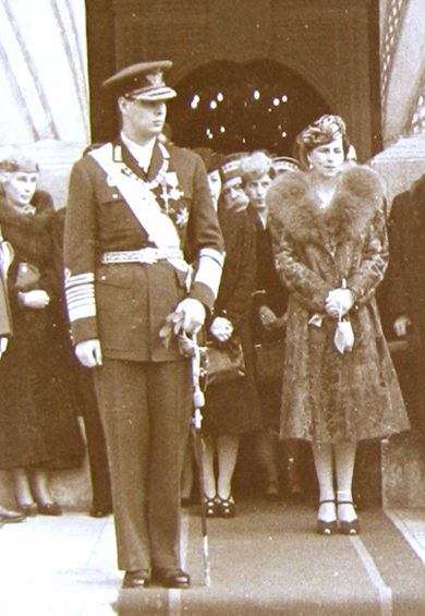 King Michael & Queen-Mother Helen of Romania