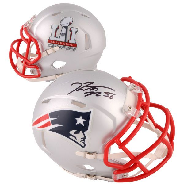 Rob Ninkovich New England Patriots Fanatics Authentic Autographed Riddell Super Bowl LI Champions Speed Mini Helmet - $139.99