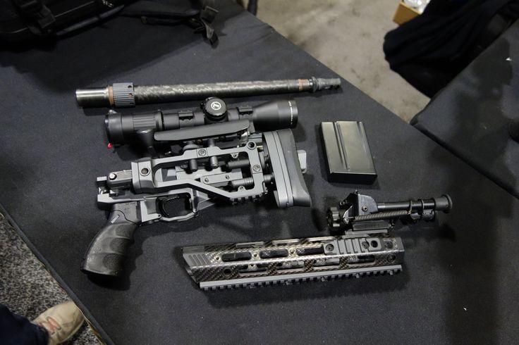 Remington Defense CSR (Concealable Sniper Rifle) 'Rucksack ...