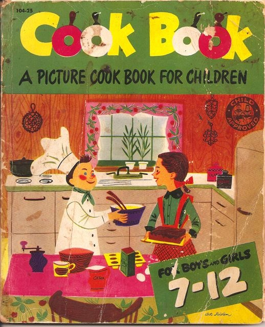 vintage cookbook for children