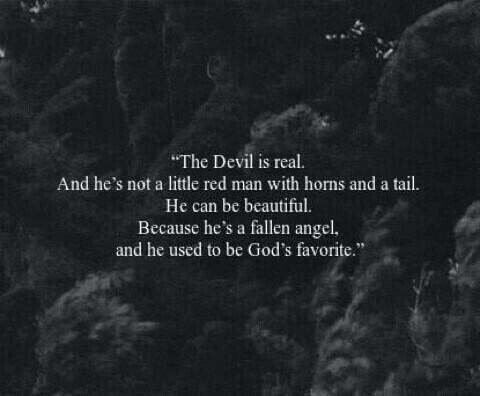 The fallen angel.......