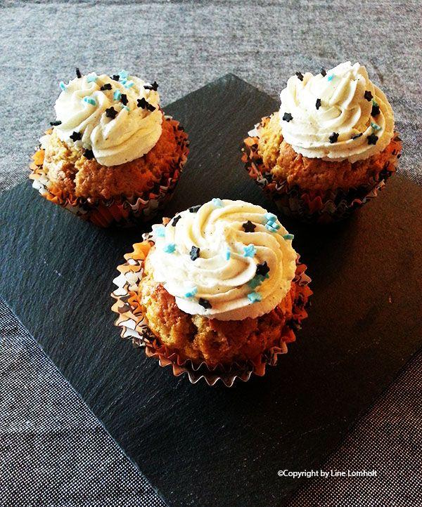 Krydrede halloween muffins