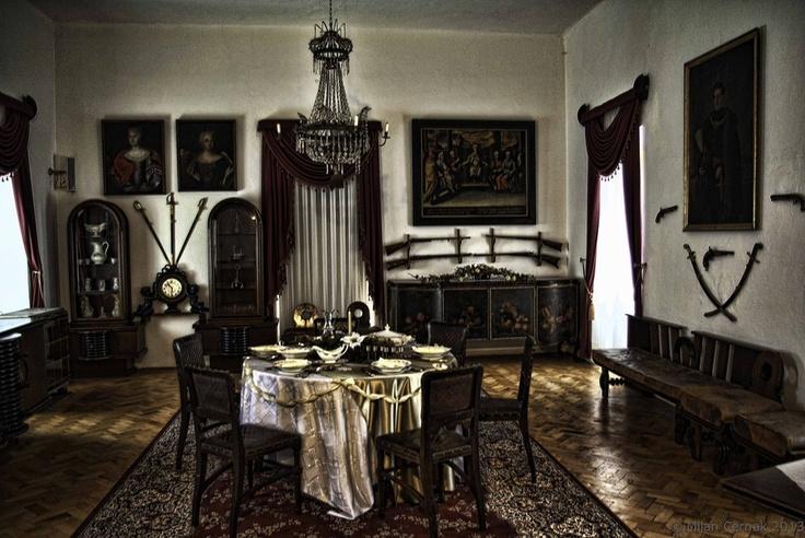 Room in castle