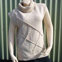Womens designer knitwear for sale at Nevalea Alpacas