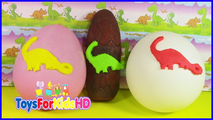 Videos de dinosaurios para niños - Sorpresas de dinosaurios -  juguetes de dinosaurios ToysForKidsHD
