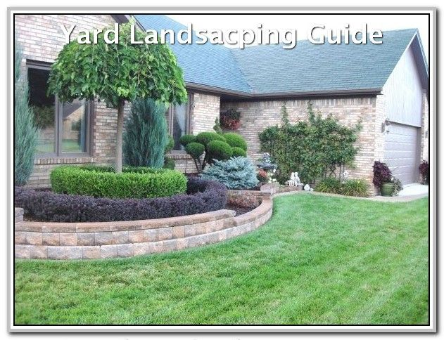 How To Keep Your Yard Looking Nice In The Winter Landscaping Lovers Landscaping Retaining Walls Front Yard Decor Yard Landscaping