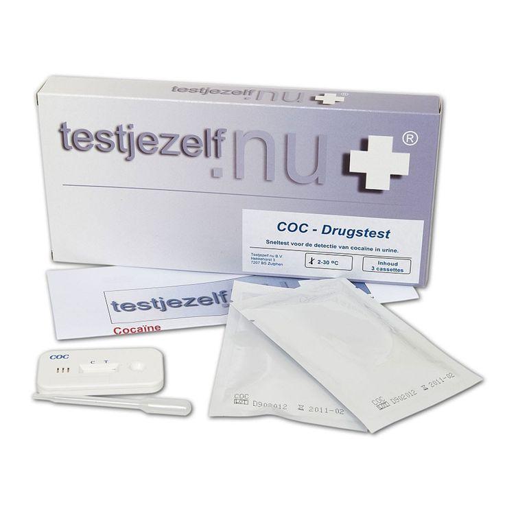 Testjezelf.nu Drugstest cocaïne in urine (3)