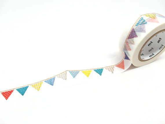 Hey, I found this really awesome Etsy listing at https://www.etsy.com/listing/170494878/mt-washi-tape-cute-fabric-bunting-20mm-x