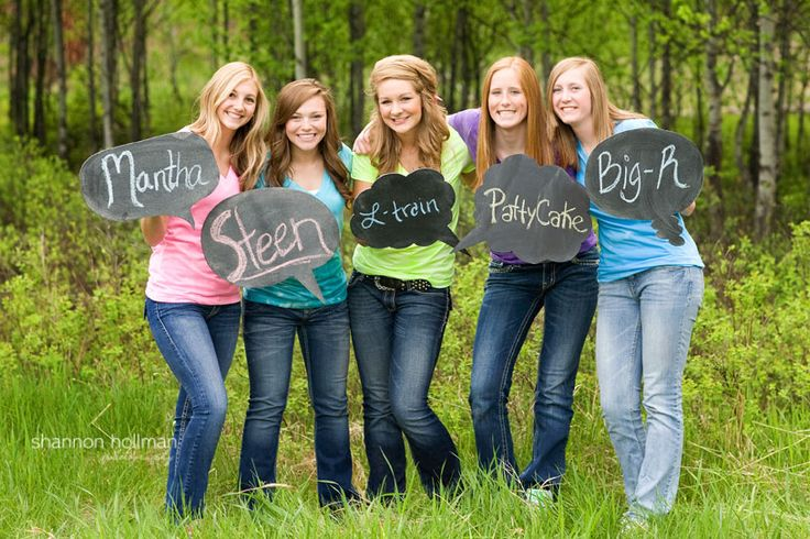 Chalkboard fun - the girls all wrote down their nicknames