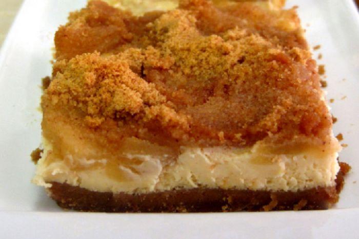 Μηλόπιτα cheesecake,εύκολη και νόστιμη