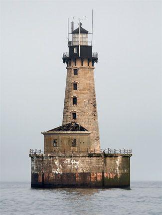 Stannard Rock Lighthouse, Michigan