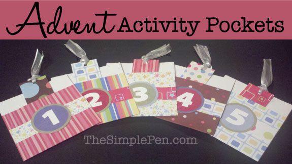 Advent Activity Pockets