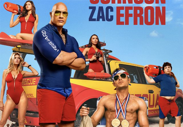 New Baywatch Posters Feature Hot Bods on the Beach