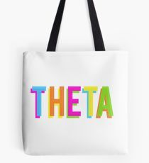 theta sticker (request) Tote Bag