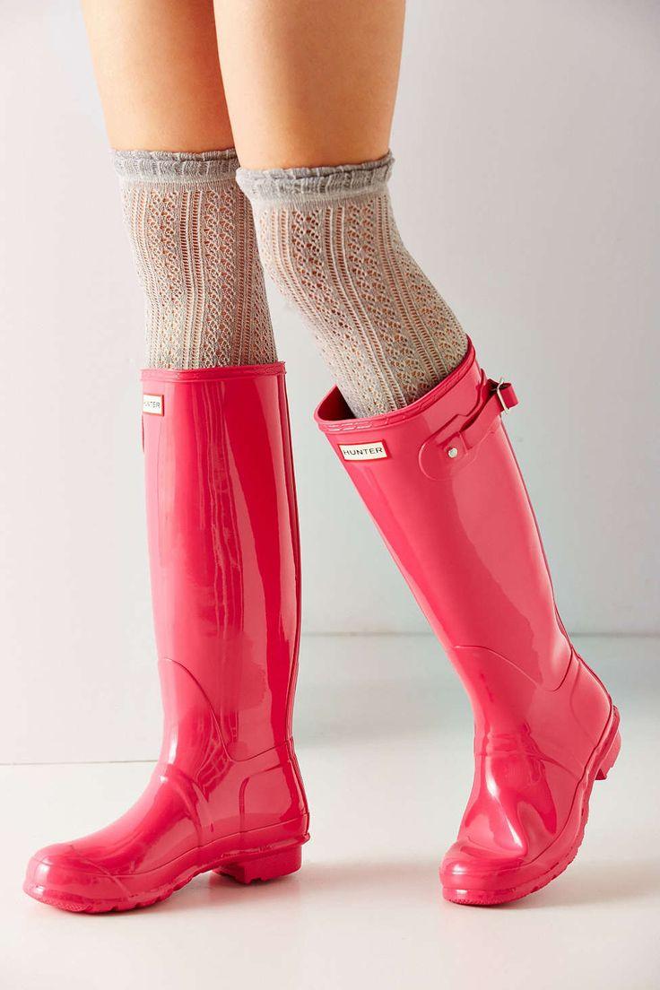 NEED! Hunter Original Gloss Rain Boot