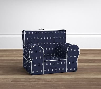 Navy Anchor My First Anywhere Chair #pbkids