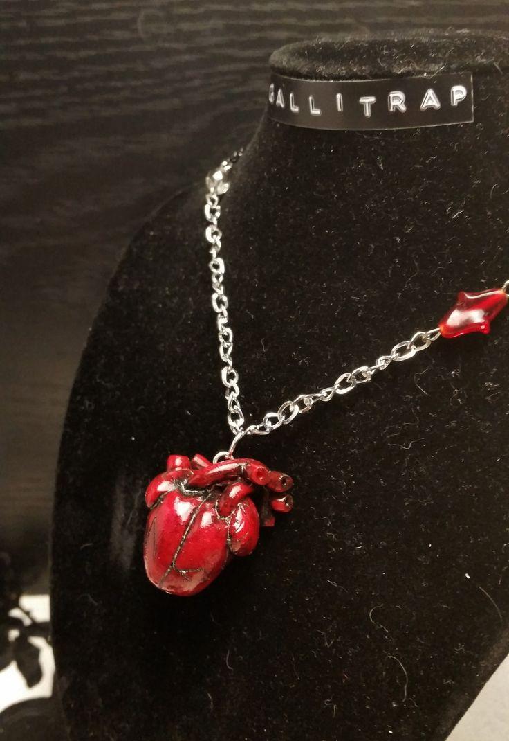 Collier Ripped Heart petit modèle GALLITRAP