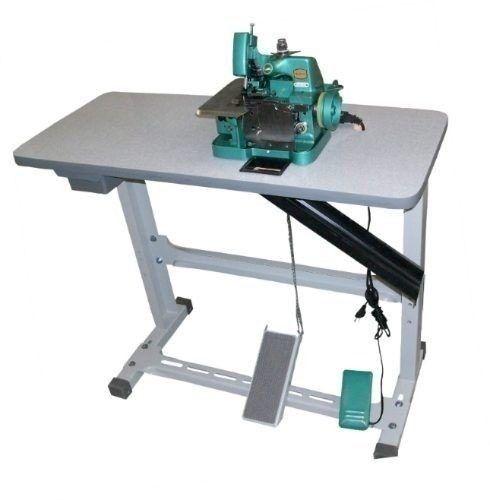 Maquina De Costura Overlock Overloque Semi Industrial C/mesa - R$ 499,99