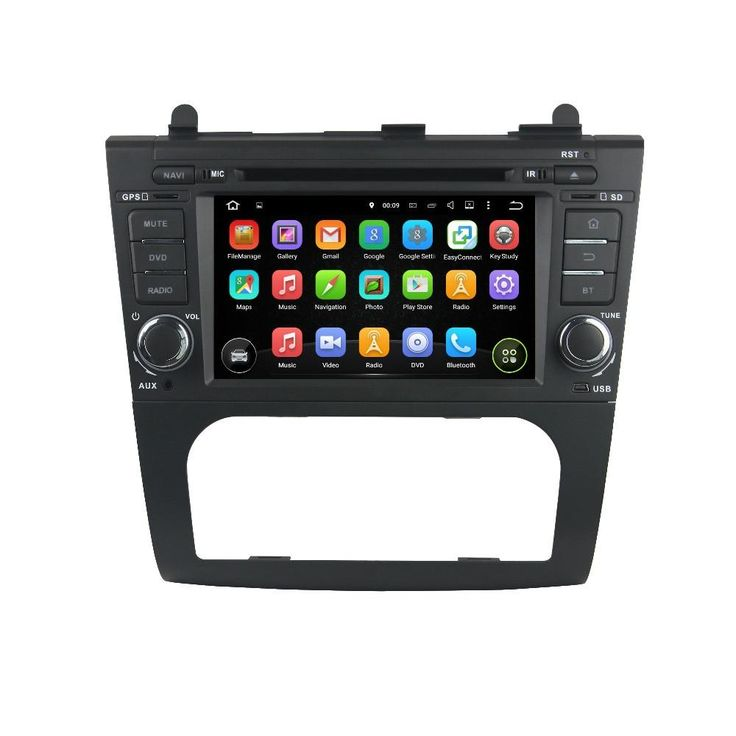 """Fits 2007 - 2012 Nissan Altima Sedan and 2007 - 2013 Nissan Altima Coupe (4th gen)w/o OEM Navigation. 7"""" Touchscreen. Built-in WiFi. Bluetooth music & calls."""