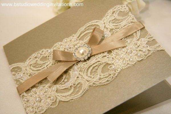 i think this is a vintage lace and pearl wedding invitation, but i like it for any type of card.