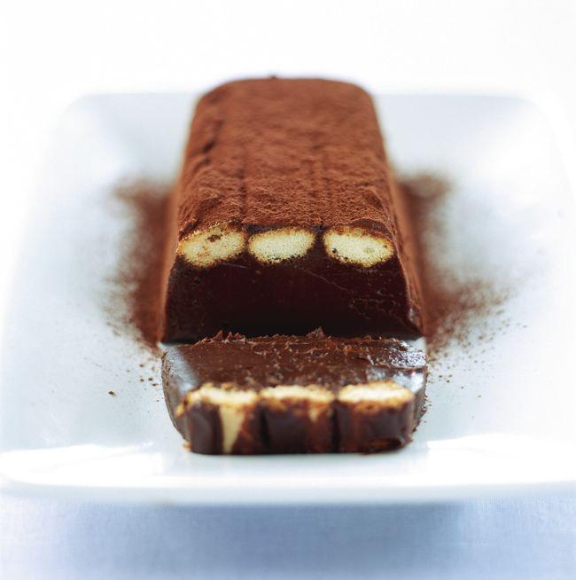 Terrine au chocolat et aux biscuits à la cuillère - Gourmand : la recette de cuisine, facile et rapide, par Vie Pratique
