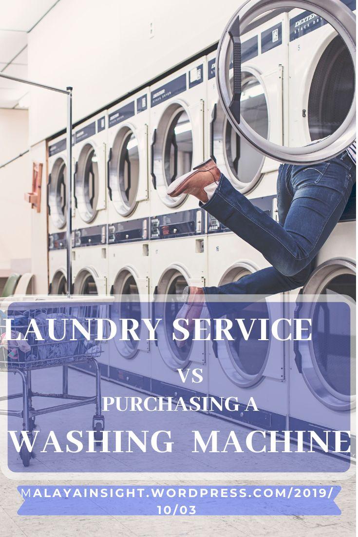Laundry Service vs Purchasing a Washing Machine Washing