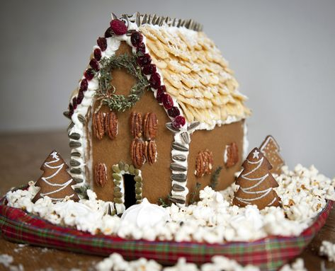 How To Make A Healthy Gingerbread House #holidays #diy