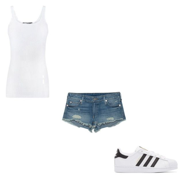 """#401"" by aureeliet on Polyvore featuring Vince, True Religion and adidas Originals"