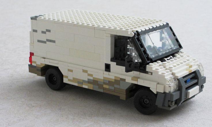 Ford Transit 'white' van (9) | von Mad physicist