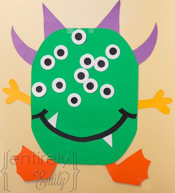 325 best Halloween crafts for kids images on Pinterest Day care - halloween party ideas for preschoolers
