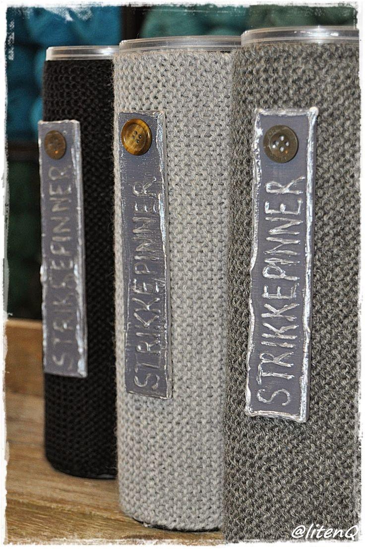 Bokser til strikkepinnene.