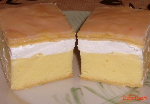 Francia krémes - Édes sütik - Sütemény receptek magazin - Hotdog.hu