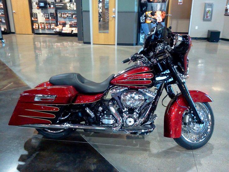 2013 Harley Custom Paint Hard Candy Street Glide CVO Style ...