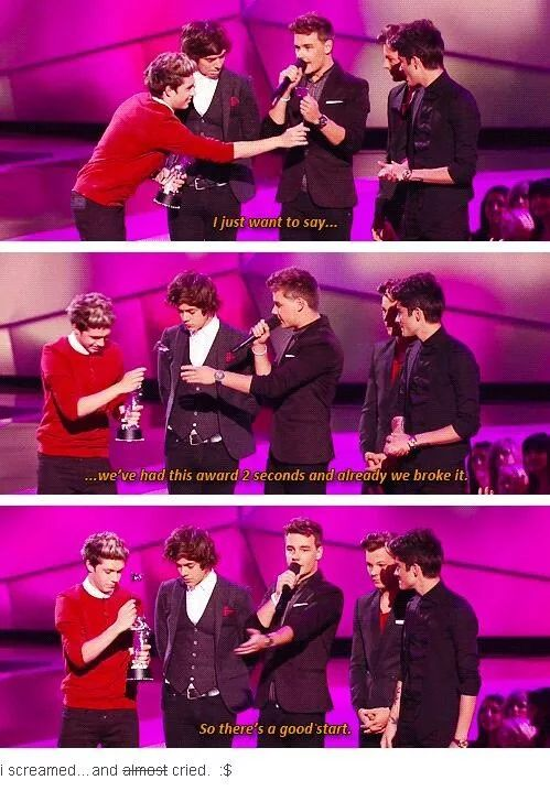 Photo: Never in history will be there a band like One Direction... :'D