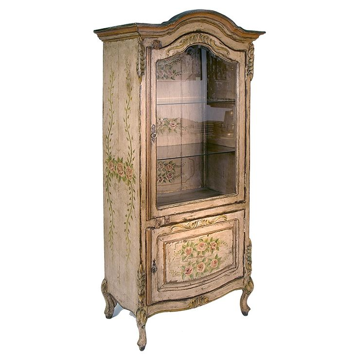 Painted Wood Furniture And Cabinets: 1000+ Ideas About Painted Curio Cabinets On Pinterest