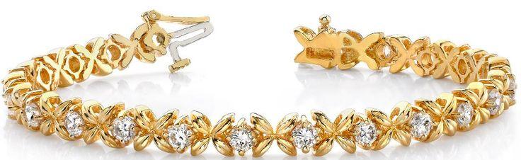 Diamantarmband mit 2.00 Karat Diamanten aus 585er Gelbgold bei www.diamantring.be für nur 2990.00 Euro Versandkostenfrei bestellen.