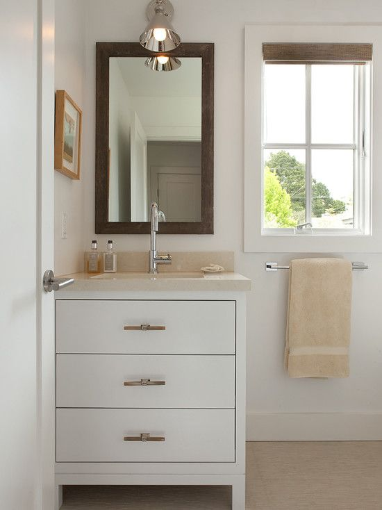 White Vanity Like The Styling Mill Valley
