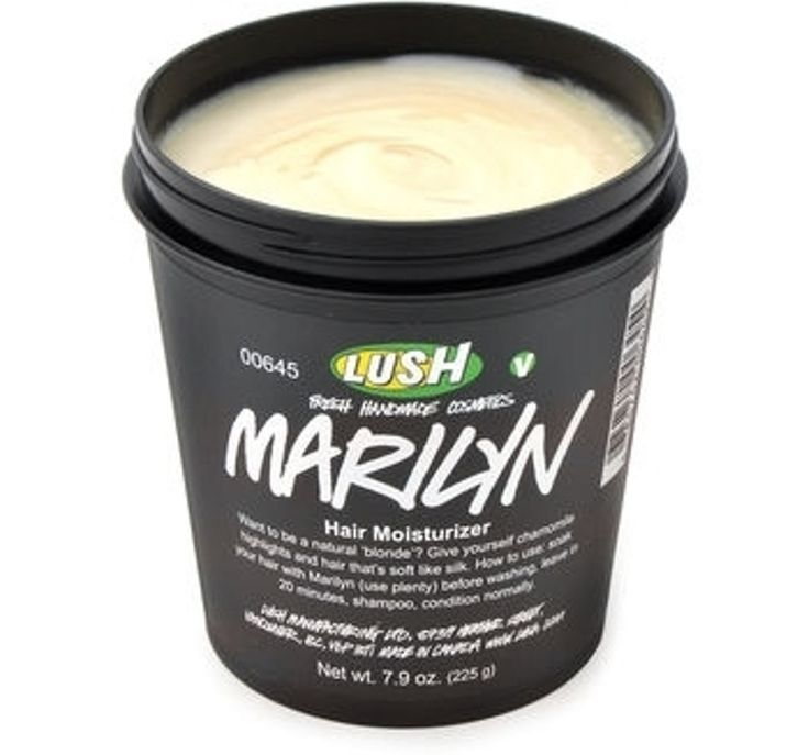 6. Lush #Marilyn Hair Moisturizer - 13 Best #Products for Blondes ... → Hair #Blondes
