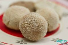 Delicious snickerdoodle cookie dough balls. Low carb snickerdoodles are perfect for the keto diet. Check all of our low carb cookies today. LCHF