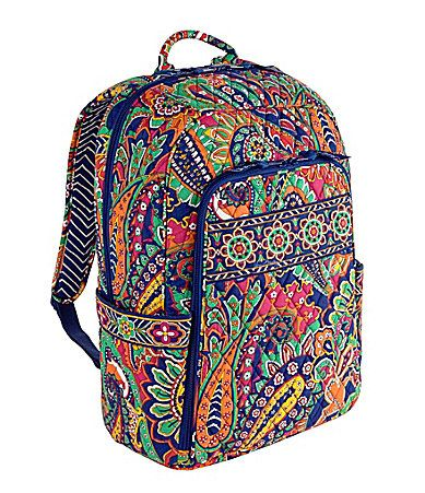 Vera Bradley Laptop Backpack. I want this...