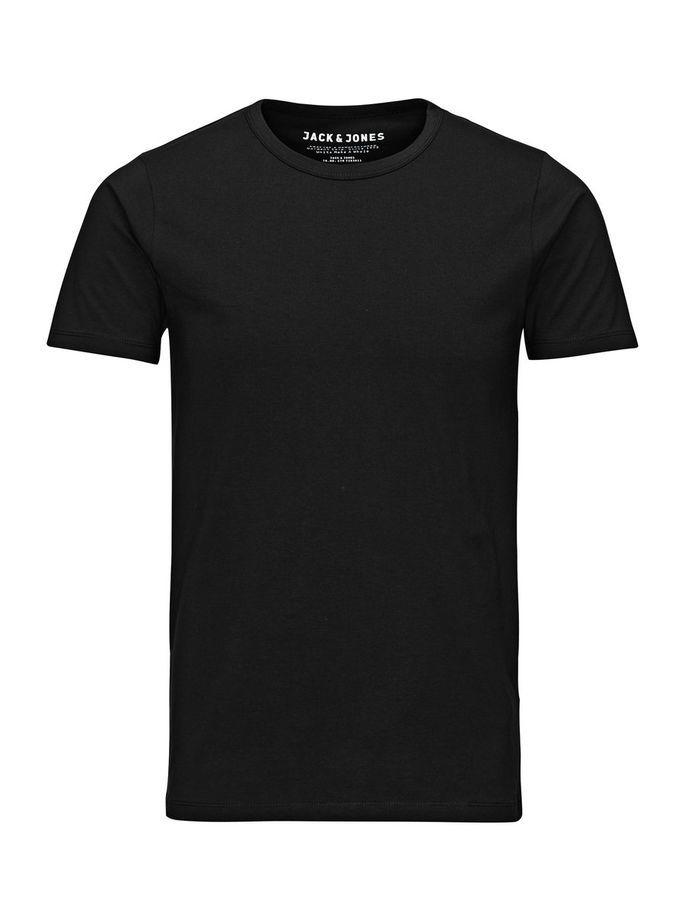 BASIC T-SHIRT, BLACK, large