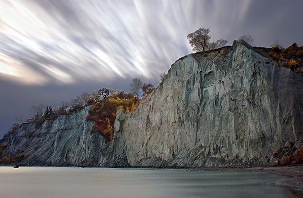 7 wonders of Toronto- Scarborough bluffs