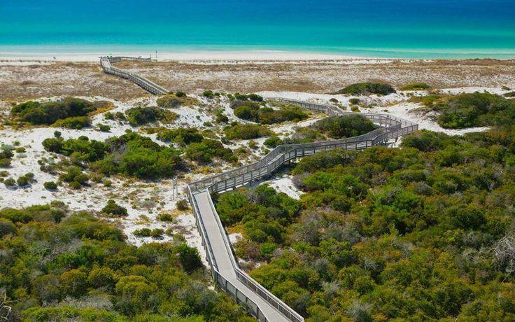 Boardwalk, Henderson State Park, Destin, Florida, USA