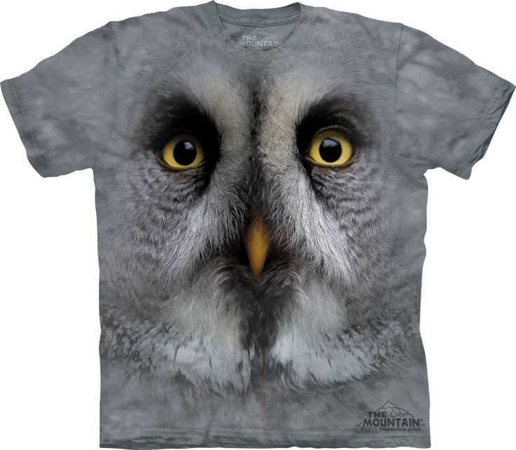 Great Grey Owl T-Shirt @Click image to purchase