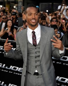 Marlon Wayans  grew into fineness..