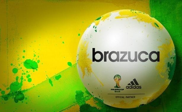 Brazuca, este é o nome escolhido para a Bola do Mundial de Futebol de 2014 no Brasil. Nome já foi escolhido, mas design só será conhecido em 2013 (crédito: Reprodução/Globoesporte.com)