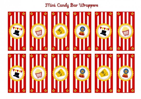 circus invitations templates free | FREE Circus Birthday Party Printables from Printabelle | Catch My ...