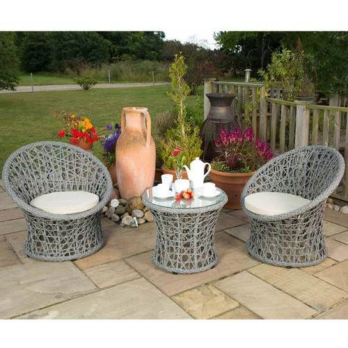 distinctive lattice chairs and table set light grey cushions round pe rattan garden chairs