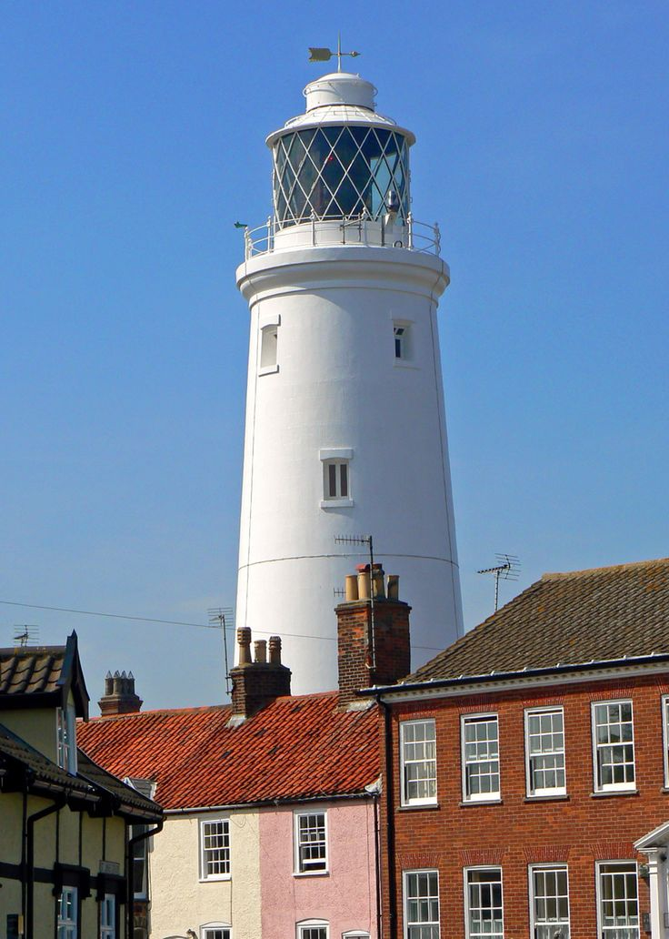Southwold Lighthouse - blue skies and sunshine - simply lovely!