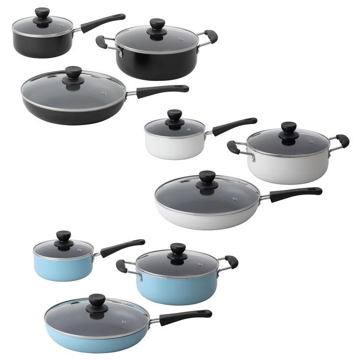 24 best cookware images on pinterest cookware set kitchen utensils and cooking ware. Black Bedroom Furniture Sets. Home Design Ideas